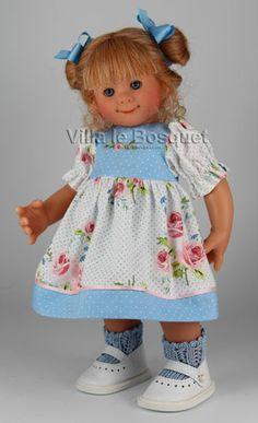 POUPEE ORIGINAL MÜLLER-WICHTEL MARJORIE - poupée de collection de Rosemarie Müller