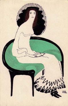 Modern Printmakers: Yours truly, LH Jungnickel (1881 - 1965)