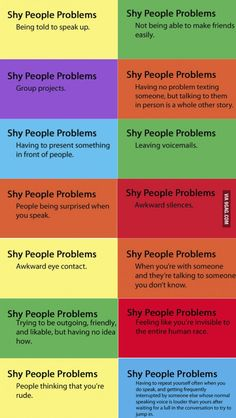 Being shy is not the same as being an introvert...