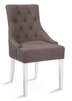 STELLA-tuoli valkoinen/harmaa
