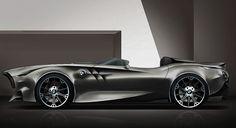 Суперкар BMW Rapp: концепт к 100-летию легендарной фирмы. (4 фото)
