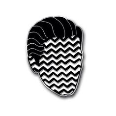 Black Lodge Coop 1 Enamel Pin by bunnymiele on Etsy
