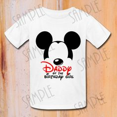 DESCARGAR INSTANT camiseta Disney Mickey por Fantasyprintables