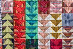 Goose Quilt by Judith Dahmen