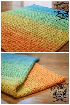 [Free Crochet Pattern] This Blanket Works Up Fast And Is Simple Enough For Beginners!