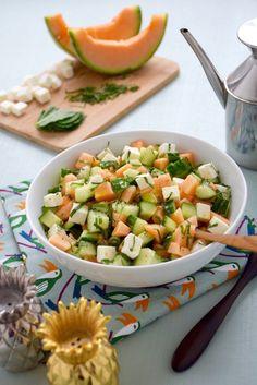 Good Healthy Recipes, Veggie Recipes, New Recipes, Healthy Drinks, Feta Salat, I Love Food, Summer Recipes, Food Inspiration, Entrees