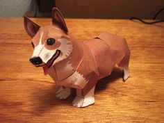 Create your own Corgi! Papercraft 5 - Welsh Corgi Pembroke