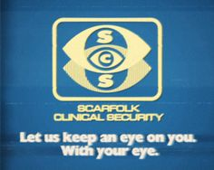 Scarfolk Council: The SCS Living-Eye Surveillance Computer (mid-1970s)