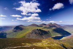 The Mourne Mountains, also called the Mournes or Mountains of Mourne, are a granite mountain range in County Down in the south-east of Northern Ireland. It includes the highest mountains in Northern Ireland and the province of Ulster.
