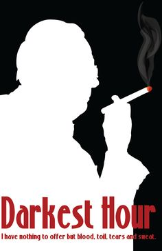 Darkest Hour - Winston Churchill movie coming out in 2017.