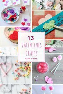 13 Valentines Crafts for Kids