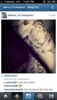 Roses #Tattoos