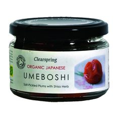 Ciruelas Umeboshi japonesas ecológicas Clearspring International Recipes, Coco, Nutella, Plum, Sushi Ideas, Herbs, Organic, Popular, Products