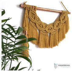 Miedź i musztarda 🧡 Tassel Necklace, Crochet Necklace, Macrame, Tassels, Modern, Jewelry, Crochet Collar, Jewellery Making, Trendy Tree
