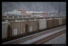 Coal Hoppers in Williamson wv