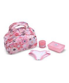 Look at this #zulilyfind! Melissa & Doug Diaper Bag Set #zulilyfinds