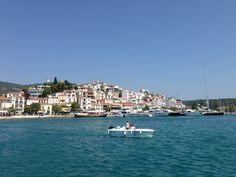 Λιμάνι Σκιάθου (Skiathos Port) στην πόλη Σκιάθος, Μαγνησία