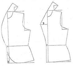 Trazo de una blusa estilo chaqueta - El costurero de Stella