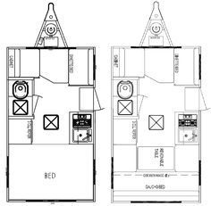 Image Result For 12 Foot Camper Floor Plans Small Travel Trailers Cargo Trailer Camper Travel Trailer Floor Plans