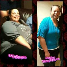 Congratulations Kristina,  You can lose on your own journey with Skinny Fiber, order here today. www.ontolosing.com