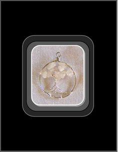 Love Stone,Rose Quartz,Attract Love,Tree Of Life Jewelry, Healing  | ArtisticCreationsbyRose - Jewelry on ArtFire