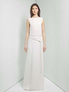 White dress...