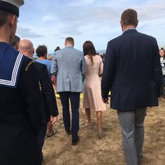 Only the Duchess of Cambridge could look this good in heels at the beach.