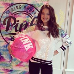 Don't miss the #PINKSpringBreak party in stores everywhere right now! PINK model @emilydidonato1 is in @vspinkbuffalo - where are you getting your party on? #Freebies #PINKLimitedRelease