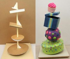 Afbeeldingsresultaat voor how to make a defying gravity cake structure Anti Gravity Cake, Gravity Defying Cake, Cake Decorating Techniques, Cake Decorating Tutorials, Decorating Supplies, Fondant Cakes, Cupcake Cakes, 3d Cakes, Fondant Bow