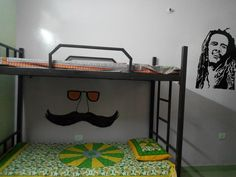 Volunteer India Jaipur, pictures of the volunteer house, bedrooms, bathrooms, common areas and entrance. https://www.abroaderview.org/volunteers/india