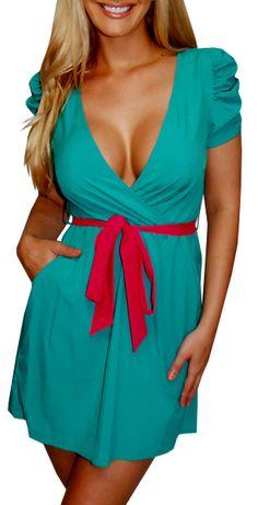 Cute and a bit slutty. Perfect dress!