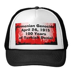 Armenian Genocide Hat #ArmenianGenocide #1915NeverAgain #100Years #Hat #Cap