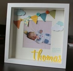 Excellent mom to be tips are offered on our web pages. Take a look and you wont … – bilderrahmen Newborn Shadow Box, Felt Crafts Patterns, Photo Frame Design, Baby Frame, Diy Bebe, Birthday Frames, Baby Keepsake, Frame Crafts, Baby Crafts