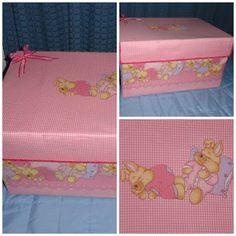 1000 images about cajas forradas on pinterest tela - Cajas de carton decoradas para bebes ...
