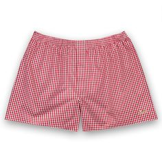 The Lions Gingham Boxer Shorts by Thomas Pink