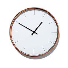 Kmart Copper Coloured Clock, $15