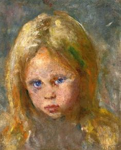 edvard munch(1863-1944), girl's head, 1885. oil on canvas, 34 x 28 cm. private collection http://www.the-athenaeum.org/art/detail.php?id=89191