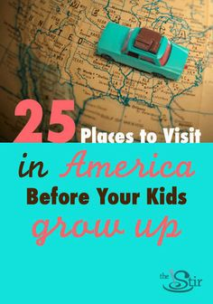 Perfect inspiration for summer! Great family road trip and vacation ideas here.