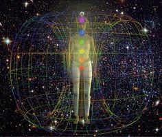 Everything about you is 'alive' with a vibrational frequency. Every thought, every emotion, every cell, every organ… everything that makes up 'you' is basically different vibrations clustered together. The chakras are the energy centers through which energy moves. When the chakras are open, everything is in balance and harmony. Sacred Geometry