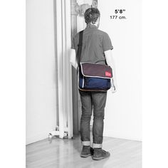 Manhattan Portage Army Duck Europa Messenger w  Back Zipper (MD) -  LuggagePlanet. e6e6b55651bc7