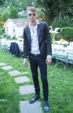 We first encountered Colson Baker, aka Machine Gun Kelly, in the Hamptons, of all places—he was a guest at a dinner we hosted with Philipp Plein. The massively successful rapper and star of Showtime's Roadies turned out to be the star of the night. He made time for a phone call during a recent European …