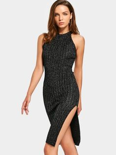 SHARE & Get it FREE | Sleeveless Sequined Side Slit Fitted DressFor Fashion Lovers only:80,000+ Items • New Arrivals Daily • FREE SHIPPING Affordable Casual to Chic for Every Occasion Join Zaful: Get YOUR $50 NOW!
