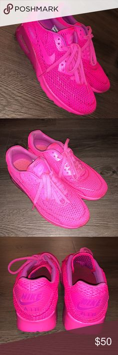 Nike Women's Air Max 90 Ultra Breathe Air Max 90 // Hot Pink Nike Shoes Sneakers