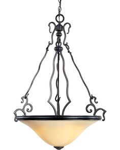 View the Maxim MX 12165 Castello 3 Light Bowl Shaped Pendant at LightingDirect.com.