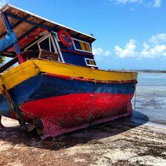 Maceio  boat colorful