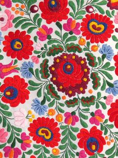 Hungarian embroidery, beautiful