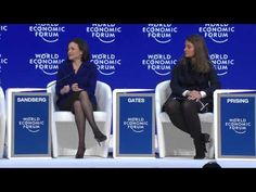 We have a toddler wage gap, says Sheryl Sandberg | World Economic Forum