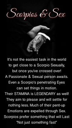 Scorpio's penetrating eyes can mesmerise . . .