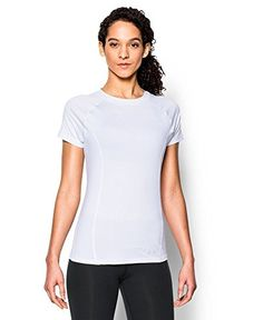 Under Armour Women's UA CoolSwitch Trail Short Sleeve Large White | AMAZON.COM saved by #ShoppingIS