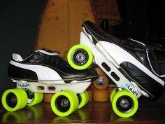 Roller Disco, Roller Derby, Roller Skating, Speed Roller Skates, Speed Skates, Air Max Sneakers, Sneakers Nike, New Skate, Quad